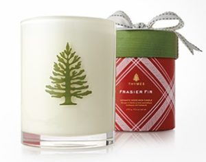 Image of candle gift, pine scent