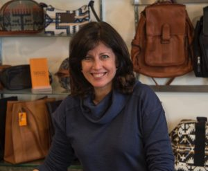 Diane sales, manager at Rhinebeck Department Store