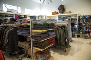 Men's clothing section, Rhinebeck Department Store
