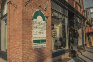Image of outside of Rhinebeck Department Store