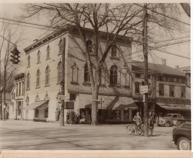 historic, vintage, photo, Rhinebeck Department Store, historical, Rhinebeck, downtown, village, main street