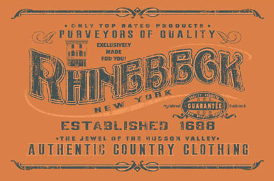 Rhinebeck, Clothing, authentic country clothing