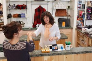 Image of Diane at Rhinebeck Department Store, superior customer service